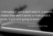 Interviews with UX leaders / A series of interviews with UX leaders at some of the world's smartest companies such as The Telegraph, GDS, The BBC and many more.