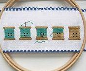 Stitchery / Embroidery, etc.