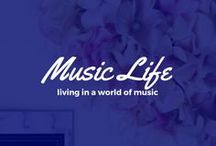 Music Life / The wonderful life of music. Check out these studios, writing rooms and many other things.