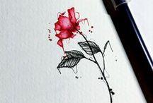 2nd tattoo - Blue rose