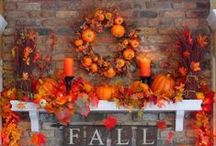 Fall, Thanksgiving Decorations .....Crafts and Food