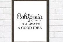 california / by clarissa saunders
