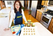 Blue Ribbon Recipes / Photos of participants, recipes and winners of the annual Great American SPAM® Championship