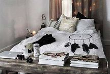 Bedroom Ideas / Vintage//romantic//shabby chic//french//bohemian