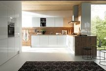 Wood Schüller Kitchens / A natural interior provides peace and harmony. Schüller kitchens range from real wood to imitation wood finishes