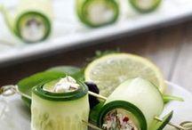 Asparagus, cucumber