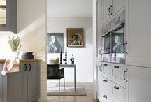 Grey Schüller Kitchens / Go for sophistication in your new Schüller kitchen and choose grey coloured cabinets