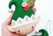 Christmas Sewing Ideas / Why not craft your decorations and some gifts this year.