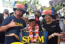 Waikiki SPAM Jam® Festival / The Waikiki SPAM Jam® is a street festival that celebrates the people of Hawaii's love for SPAM® brand. In Hawaii, you will find SPAM® at all grocery and convenience stores, many restaurants and in most homes in Hawaii.