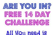 FREE 14 day Total Body Blast Challenge / Are you taking the 14 day challenge? All you need is 5 minutes  a day to sweat about it. It's simple Each day I will post my 5 minute workout video. It will be a 5 minute AMRAP, no equipment needed. Challenge yourself, comment below your rounds, and Re-pin to challenge someone to beat your rounds.  Do something that your body will thank you. Get sculpted and get lean. Share this with a friend and post below if your taking the challenge!