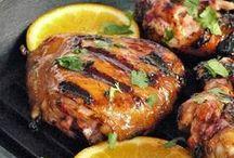 Barbecue and marinades