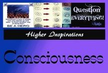 "Consciousness / ""Awareness, awareness, awareness."" --Tony deMello / by Higher Inspirations"
