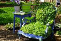 garden FURNITURE  &  stuff