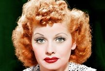 LUCILLE  BALL   ¥¥¥ / AUGUST  6, 1911  to  APRIL  26,  1989 / by Gloria Spivey