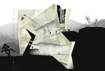 Architecture Presentation / Architectural drawings, paintings, CGI