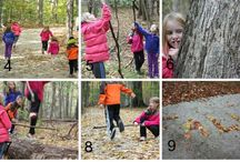 Kids loving the outdoors!  / Activities to help develop a love of the outdoors
