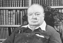 """SIR WINSTON CHURCHILL  ¥¥¥ / """"MY MOST BRILLIANT ACHIEVEMENT WAS MY ABILITY TO BE ABLE TO PERSUADE MY WIFE TO MARRY ME.""""  SIR WINSTON CHURCHILL  / by Gloria Spivey"""