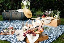 Un petit pique-nique / Déjeuner sur l'herbe... / by Fenny Trimb