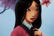 Disney Girls 梨 Mulan 紗 / Mulan (1998)