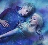 Elsa❤️Jack / Hottest crossover couple!