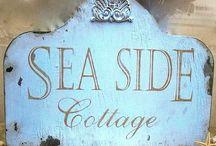 Hellen's sea side cottage / by Fenny Trimb