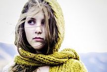 Scarves, Cowls & Neck things / Hand knit and crochet scarves, cowls and shawls.