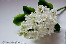 Цветы рукодельные
