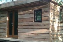 Sheltered Spaces / Cabins, Studios & Hideaways.   www.shelteredspaces.co.uk