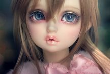 Ball-jointed dolls BJD