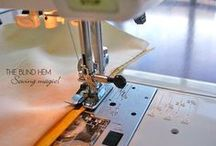 Sewing Machine and Sewing Projects / by Pam Dooley-Baugh