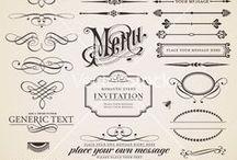 Fonts & flourishes