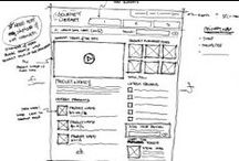 Sketch / Layout / Wireframe / Diseño de maquetas y prototipos para aplicaciones.