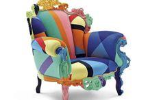 Furnitures: a new look / Porque deshacernos de un mueble que nos gusta o que tiene un valor estimativo... Demosle una nueva apariencia y sigamos disfrutandolos.
