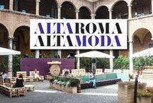 Alta Roma Alta Moda / AltaRomAltaModa è  la fashion week capitolina, che crea molteplici occasioni di incontro tra le STORICHE MAISON ITALIANE e le NUOVE REALTÀ PRODUTTIVE E CREATIVE INTERNAZIONALI.