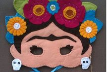 Craft: felt & fabric mask / *