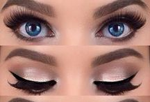 """Eyes & Brows Makeup / """"Los ojos son el punto donde se mezclan alma y cuerpo"""" -  Friedrich Hebbel."""