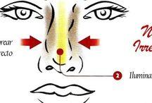 Face & Nose Contouring Makeup / * El maquillaje sirve para embellecer el rostro, destacar los mejores atributos y también para corregir algunos defectos.  Afinar la nariz, disminuir la apariencia de la frente y levantar los pómulos son algunas de las cosas que el contorno bien realizado puede corregir y mejorar en el rostro.