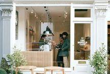 Shops and cafés