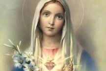 Santinhos / Maria é verdadeiramente mãe de Deus....
