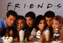Friends <3 / My love for Friends will never die. I never get sick of watching re-runs of this show ever!