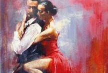 Tango / Tango dancing, form, attire, life