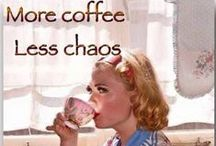 Coffee crazy...AND menopausal / Coffee please!