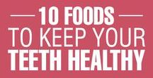 Foods to KEEP your TEETH HEALTHY / KEEP your TEETH HEALTHY