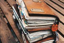 Carnets / Création de divers carnets, bullet journal, carnet de voyage
