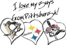 yinzers in the burgh!!!!!!!!!!!!!! / by Christina Matvia