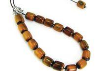 Komboloi (worry beads) / Handmade Greek komboloi made of precious materials.