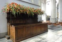 Royal Succession 2013 / Zuidkoop Natural Projects supplied the floral arrangements for the Royal Succession in the Nieuwe Kerk in Amsterdam on Tuesday 30 April 2013.