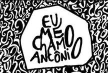 Eu Me Chamo Antônio / Antônio é o personagem de um romance que está sendo escrito e vivido. Frequentador assíduo de bares, ele despeja comentários sobre a vida — suas alegrias e tristezas — em desenhos e frases escritas em guardanapos, com grandes doses de irreverência e pitadas de poesia.