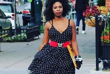 Natural Hair Style Looks / Inspired photos of natural Hair & vintage fashion. Comment & share if you like.