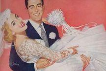 Happy Bride Cartoons / Weddings are wonderful!